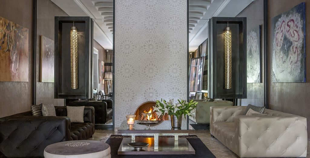 You will be awed by the Moroccan decor