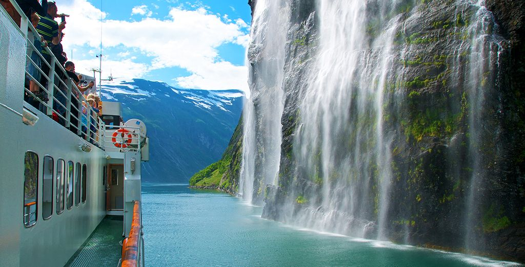 Or discover the majesty of the Fjords first hand...
