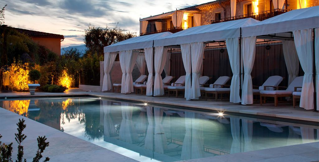This hotel exudes luxury and tranquility