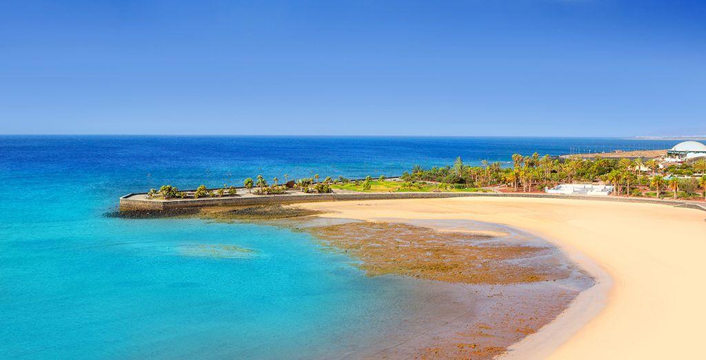 And Lanzarote's Arrecife