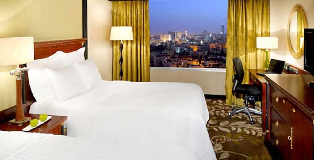 Amman Marriott Room