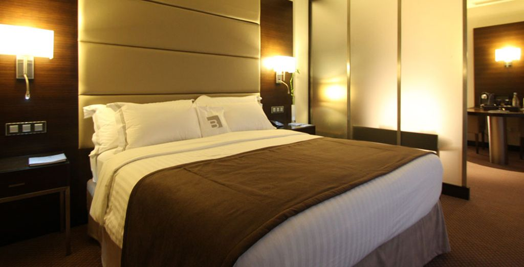 You can enjoy a free room upgrade