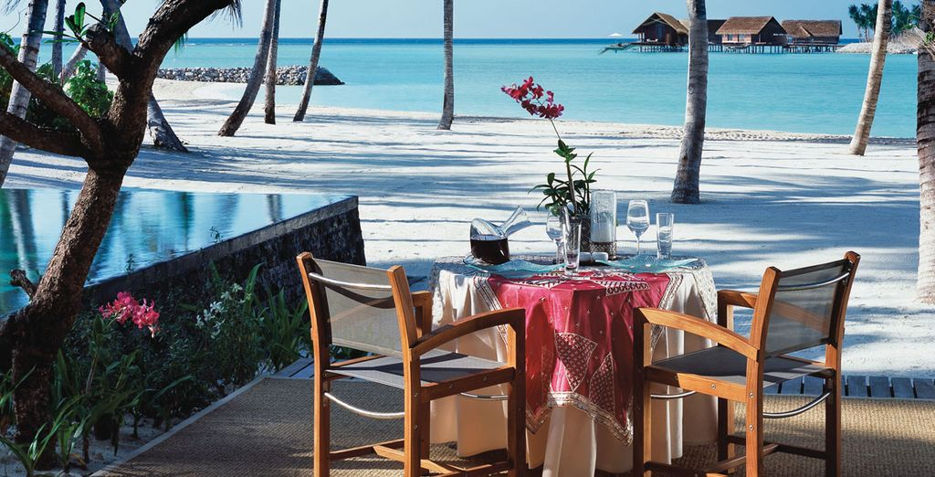With incredible beachside dining