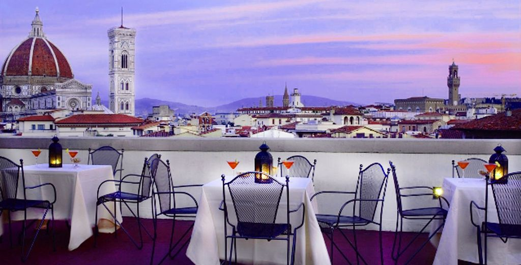 Rooftop views of the Duomo - Boscolo Hotel Astoria 4* Florence