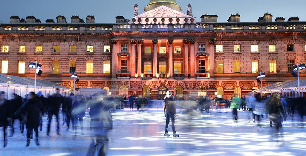 Strap on your ice skates for a festive time at Somerset House