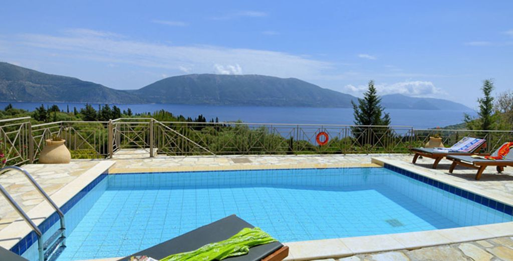 And your own private pool with these amazing views!