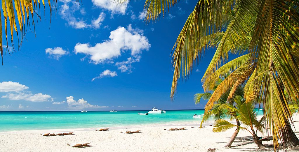 Enjoy a Sunbathe on beautiful white sandy beaches