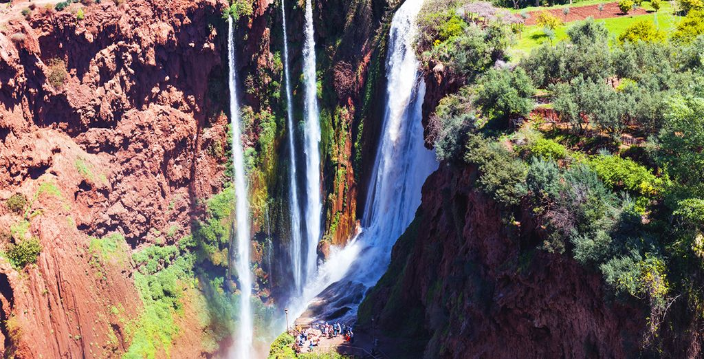 Ouzoud Waterfalls for your Holidays to Marrakech