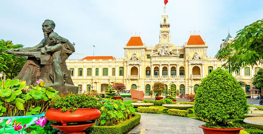 You will explore exciting Ho Chi Minh City