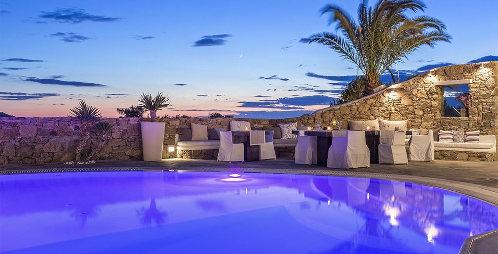 A calming environment welcomes you... - Ostraco Suites 4* Mykonos