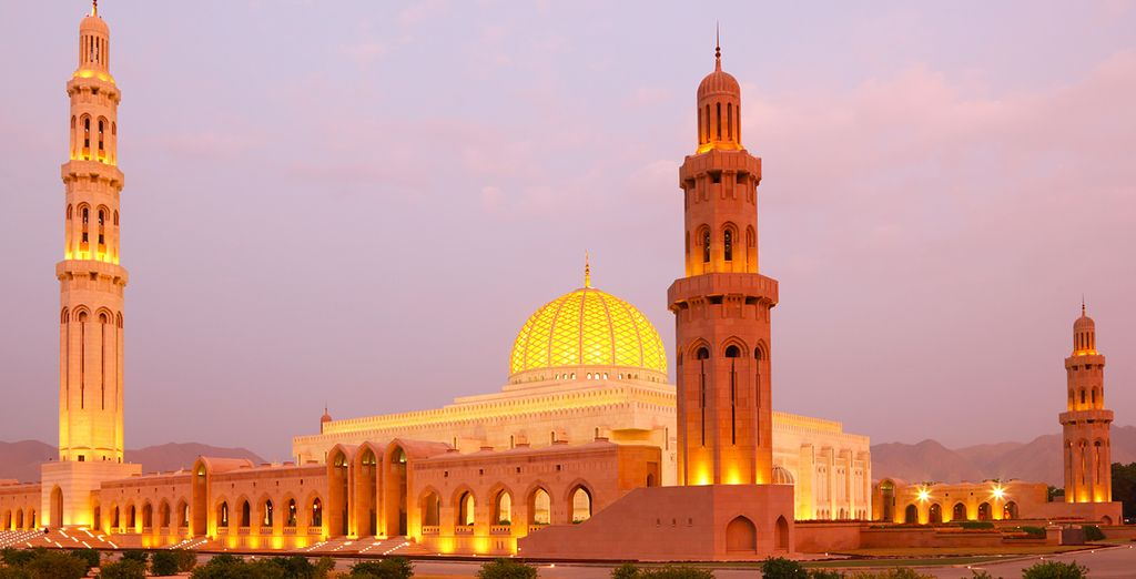 Continue to Muscat, with its grand mosques