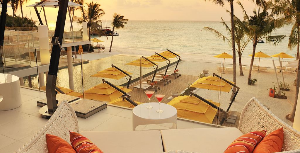 As you relax in this wonderful resort