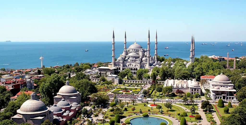 Then set out and explore the exciting city of Istanbul
