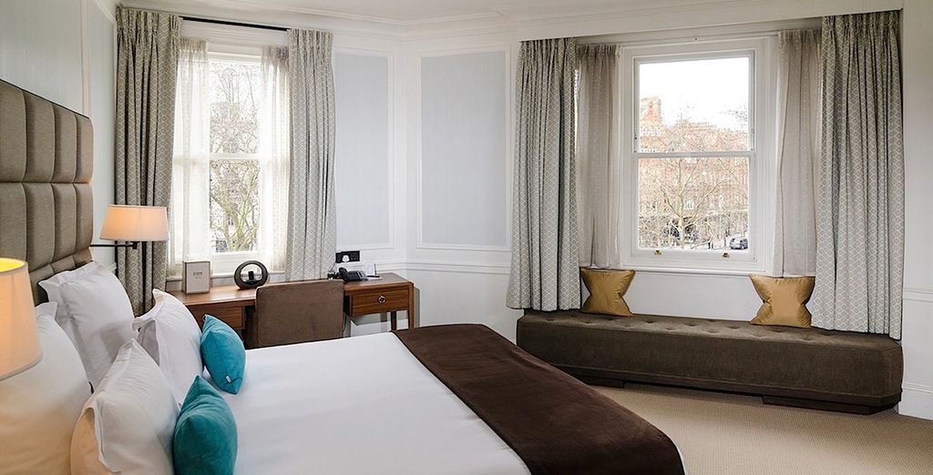 Where rooms feature classic British style