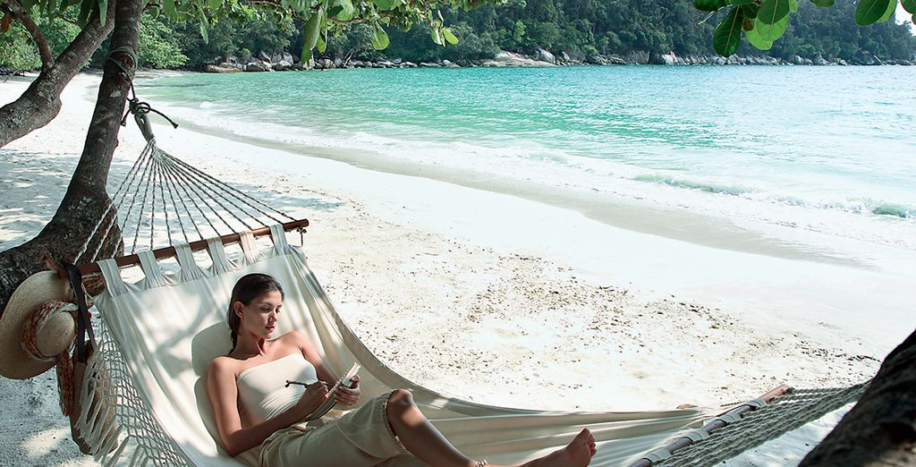 Or lounge your days away on a hammock