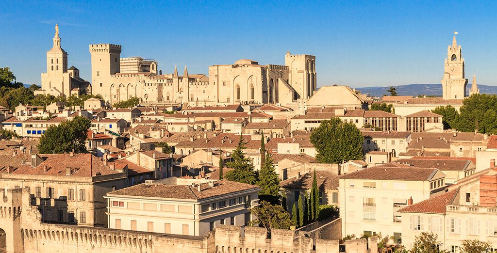 Situated just outside romantic Avignon in southern France