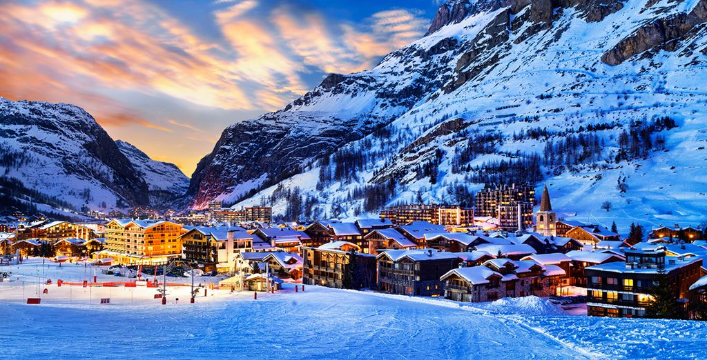 You're also just a short drive from the restaurants and attractions Val D'Isere