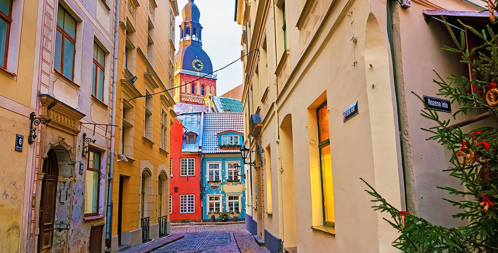 Stroll through its charming, cobbled streets