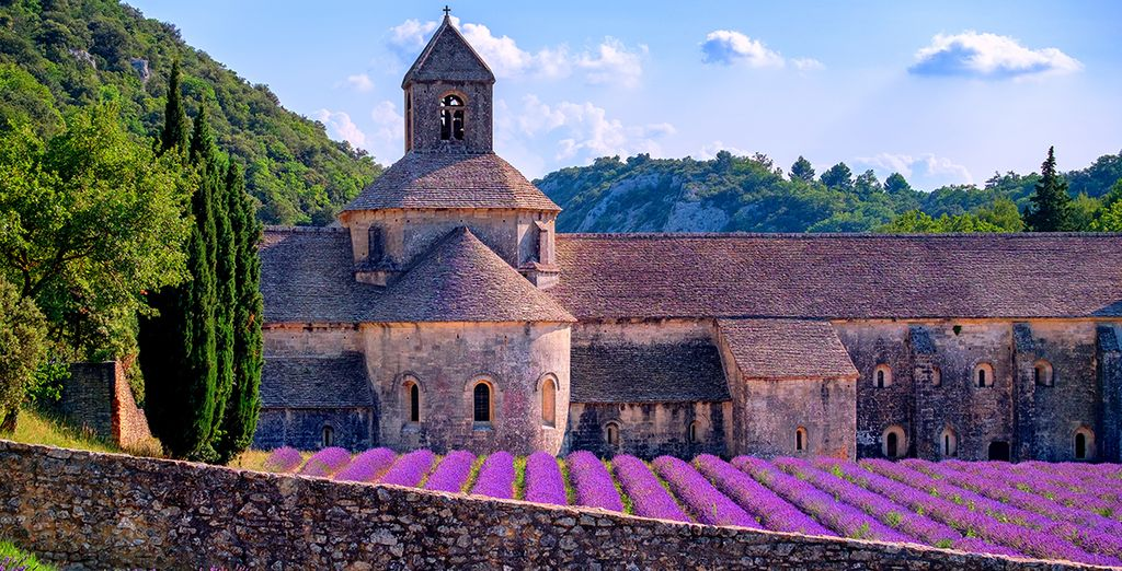 And explore the beautiful scenery of provence