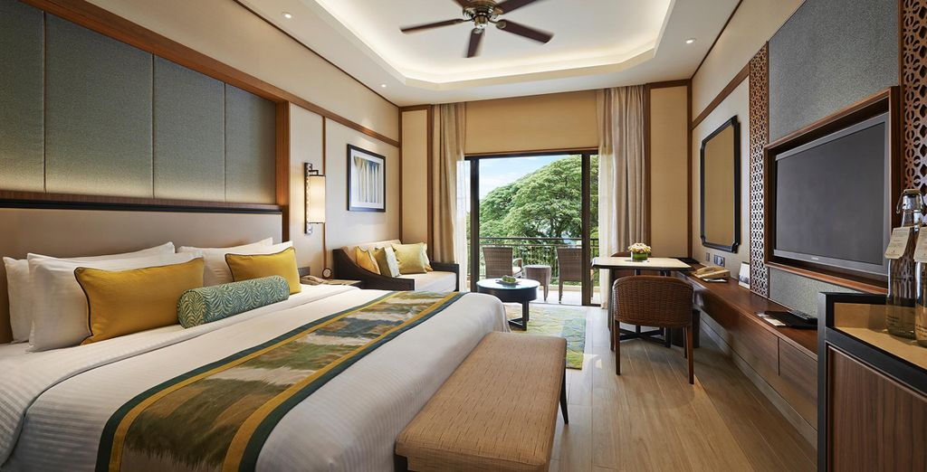 Where you can enjoy a restful 10 night stay