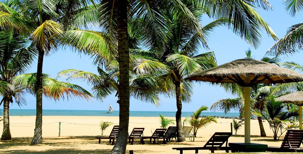 In some amazing locations (Goldi Sands, Negombo pictured)