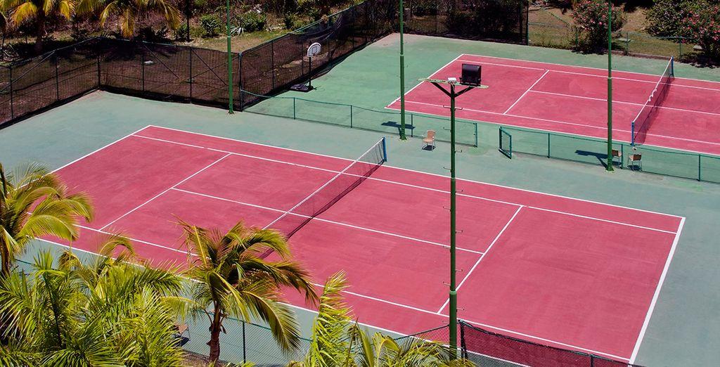 Enjoy the sports facilities