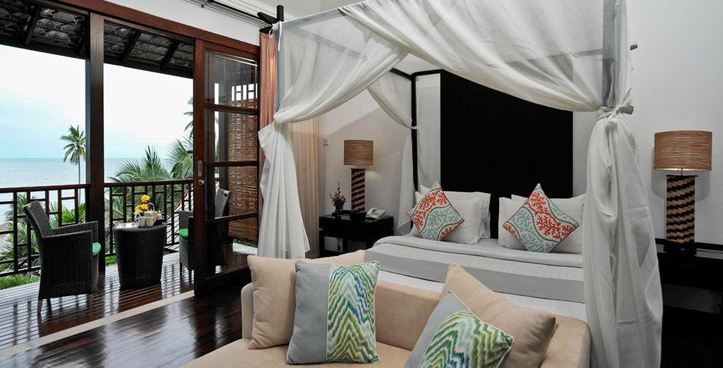 Meet tasteful oriental decor