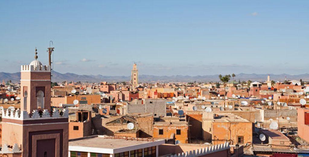 - Kenzi Farah Hotel***** - Marrakech - Morocco Marrakech