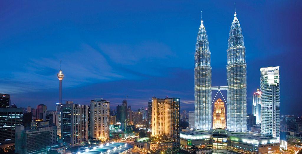Begin in the country's capital, Kuala Lumpur