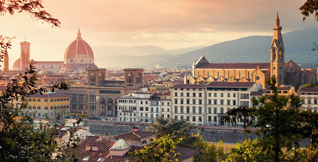 Discover Florence! - UNA Hotel Vittoria 4* Florence
