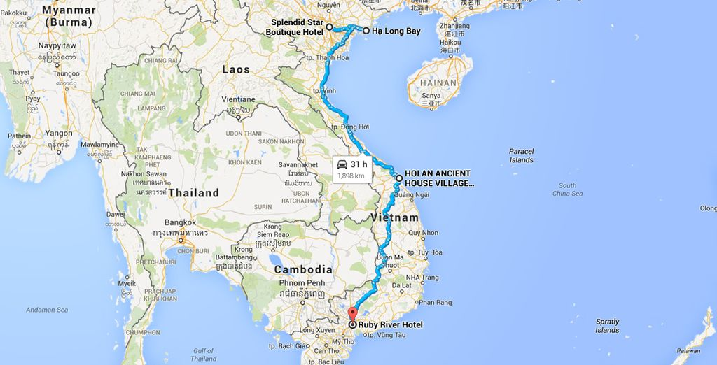 During this thrilling journey across Vietnam