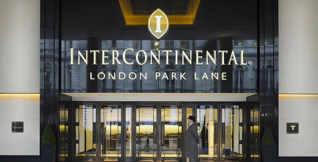 At the sublime InterContinental London Park Lane