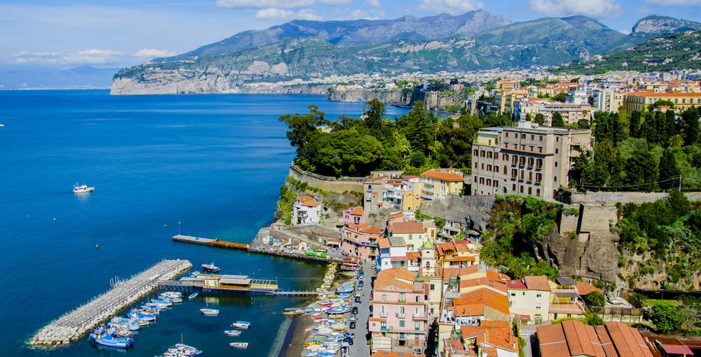The beautiful Sorrento Peninsula