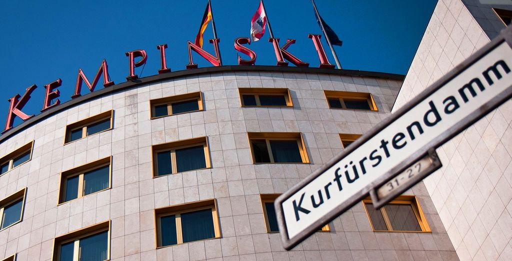 Enjoy a stay in the 5* Kempinski Bristol Hotel - Kempinski Bristol Hotel 5*  Berlin