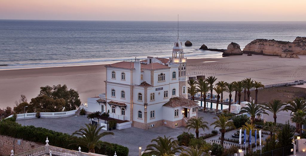 Located in the Algarve's Praia da Rocha area - Bela Vista Hotel & Spa 5* Praia da Rocha