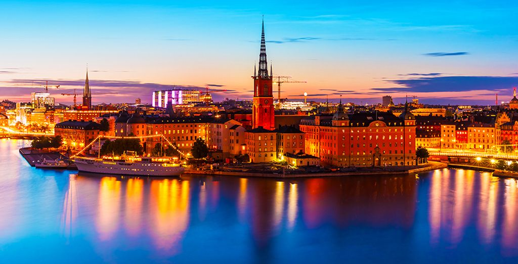 From Hotel J, you are just a 20 minute boat ride from Stockholm city centre