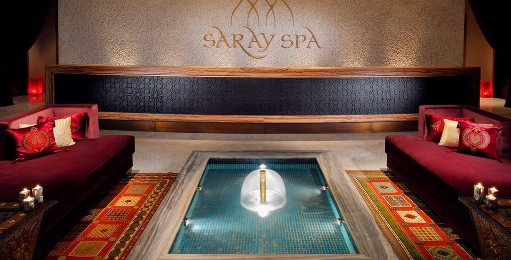 Don't miss the Spa, where you'll enjoy a 20% discount