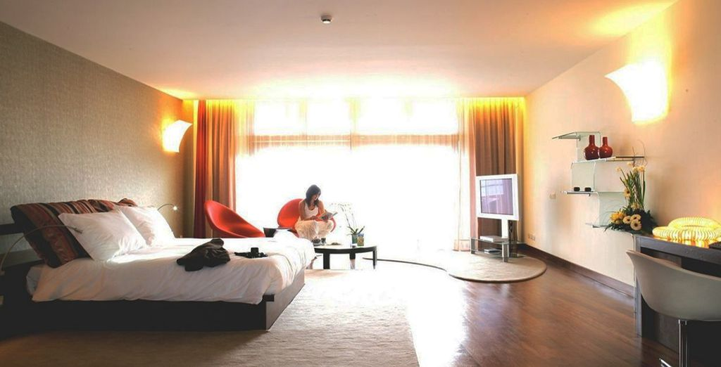 Stay in a Spa Sea View Suite