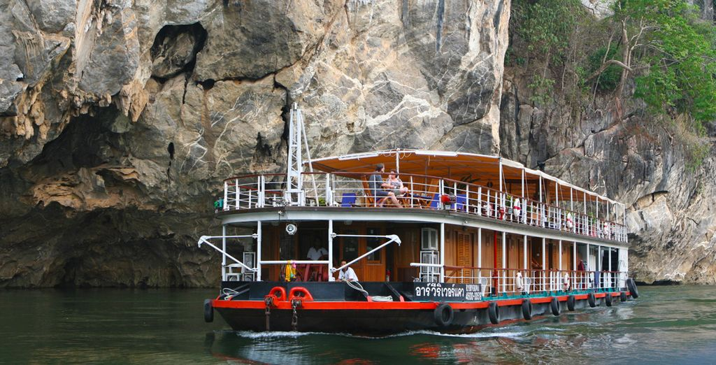 Then move onto the RV River Kwai Cruise