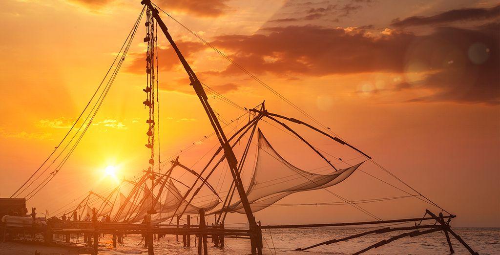 Next, you will explore beautiful Cochin