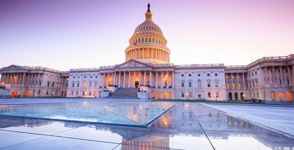 Travel to Washington DC, New York & Boston on this exciting adventure