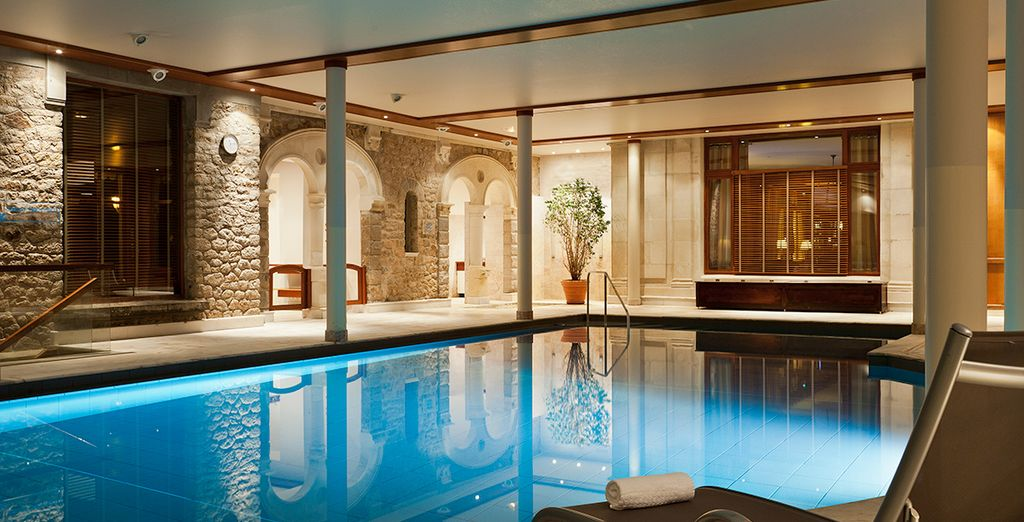 Our members can enjoy free access to the spa