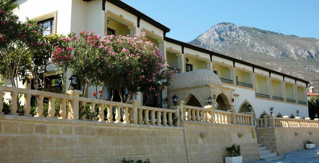 Where you can relax in the sun - Bellapais Monastery Village 4* Kyrenia