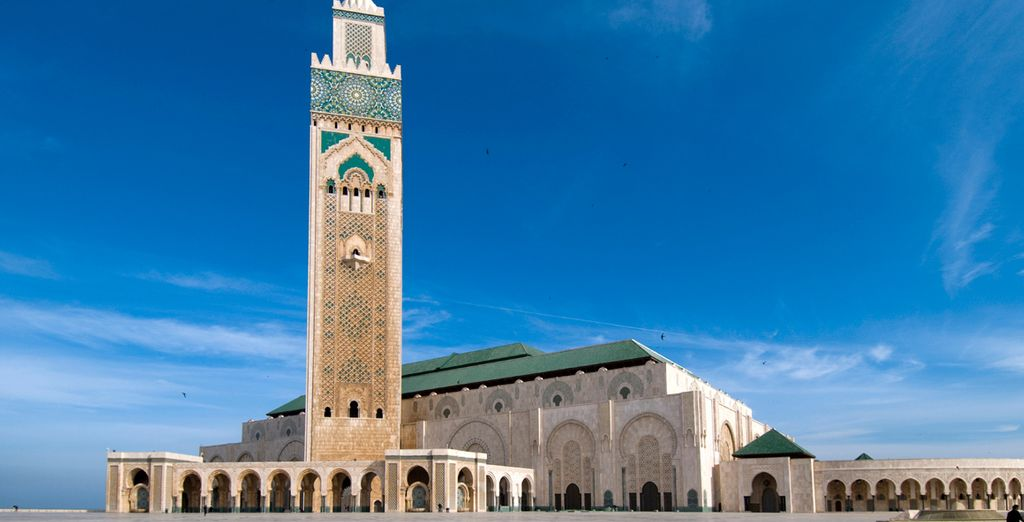 The famed Moroccan city of Casablanca