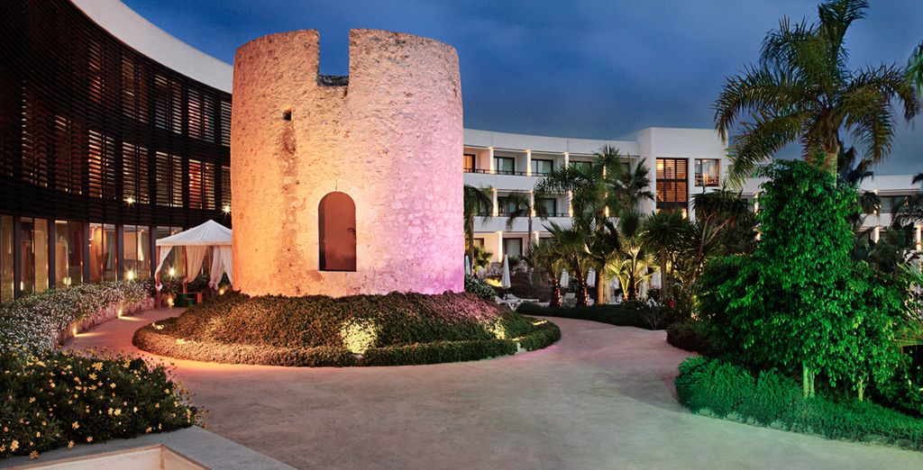 This resort seemlessly blends the historic with the contemporary