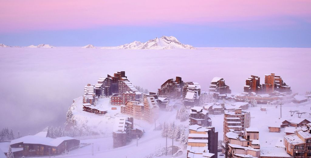 Les portes du soleil, ski resorts in Morzine