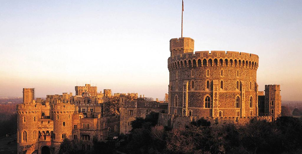 The hotel is not far from Windsor Castle