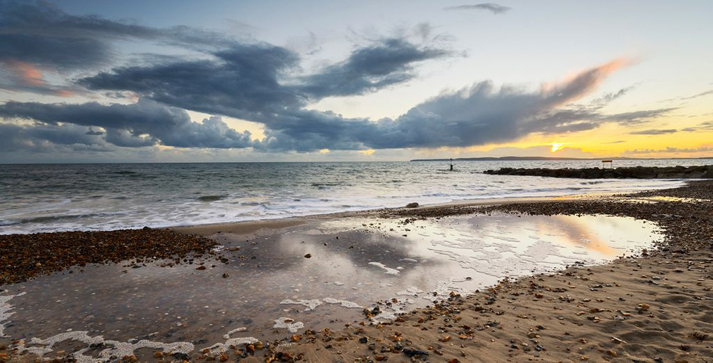 Venture out to explore the stunning beaches of Dorset