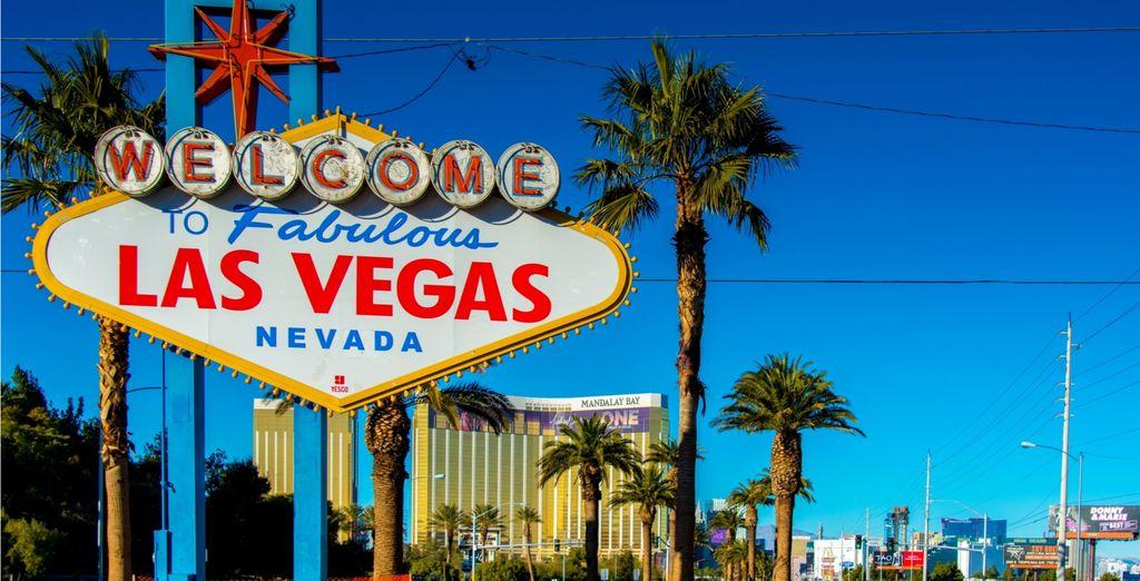 Discover the famous Las Vegas with Voyage Privé