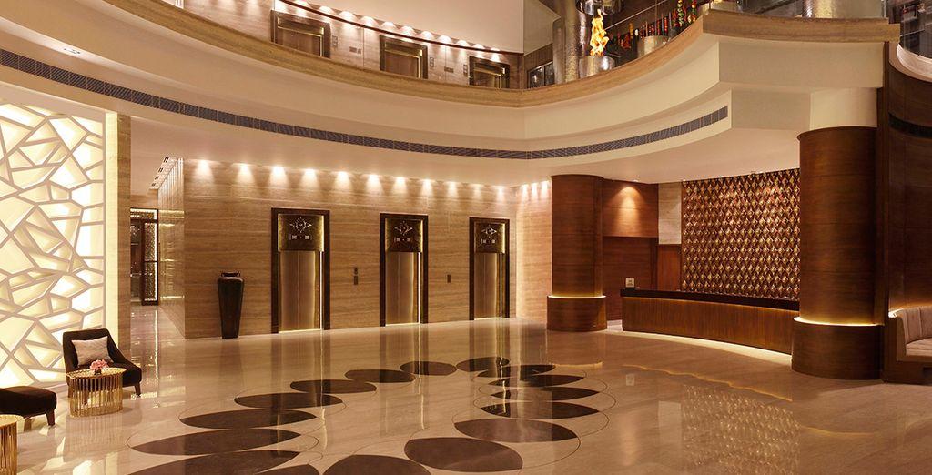 Hilton Jaipur boasts superb design